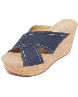 Joan Cork Wedges
