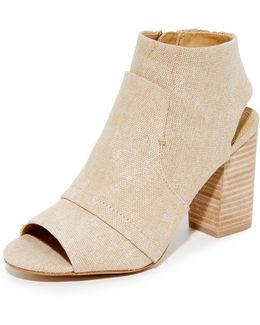Darlene Canvas Booties
