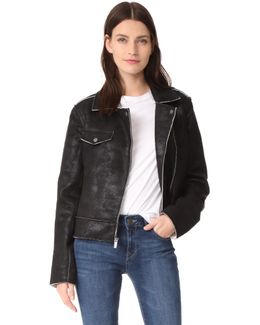 Bonded French Terry Jacket