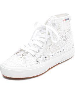 Macrame High Top Sneakers