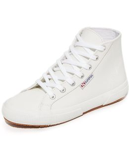2795 Leather Hi Top Sneakers