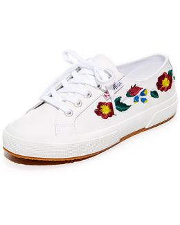 2750 Leather Embroidery Sneakers