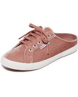 2288 Velvet Mule Sneakers