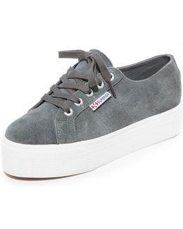 2790 Suede Platform Sneakers