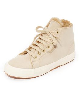 2795 Sherpa Lined High Top Sneakers
