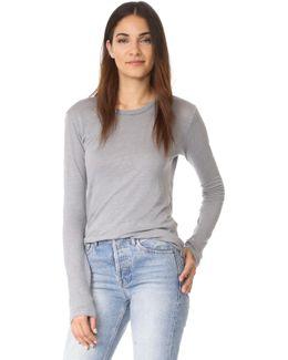 Linen Jersey Long Sleeve