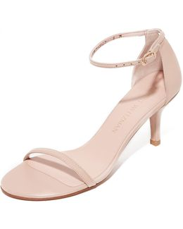 Naked Patent Leather D'Orsay Sandals