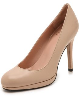 Swoon 90mm Leather Pumps
