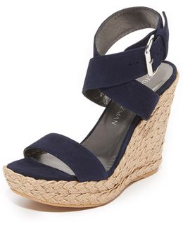 X-ray Wedge Sandals