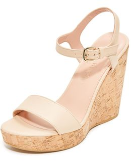 Single Wedge Sandals