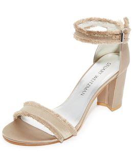Frayed Sandals