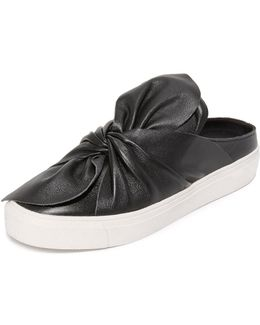 Cal Leather Slip On Sneakers