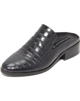 Springer Croco Mules