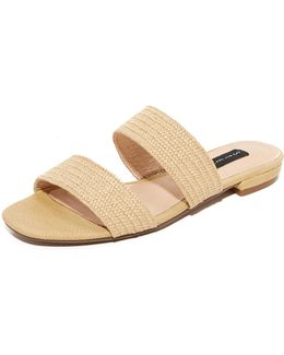 Friendsy Raffia Slides