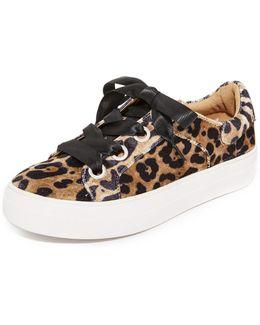 Gator Velvet Sneakers