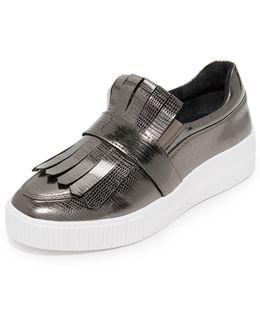 Annalee Platform Slip On Sneakers
