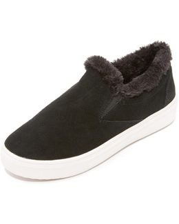 Cuddles Faux Fur Sneakers