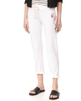 Big Flamingo Sweatpants