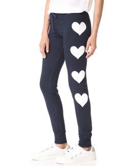 Hearts Skinny Sweatpants