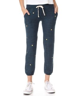 Star Patches Pocket Sweatpants