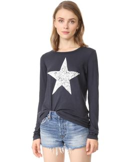 Star Long Sleeve Tee