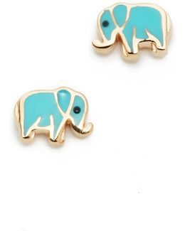 Mini Elephant Studs