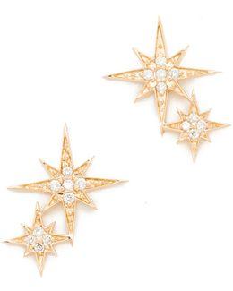 Double Starburst Studs
