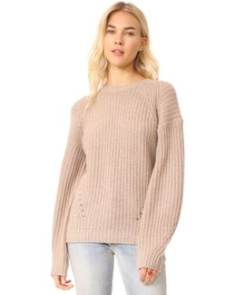 X Claudia Schiffer Long Sleeve Pullover