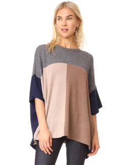 X Claudia Schiffer Colorblock Pullover