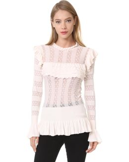 Cypre Frill Top