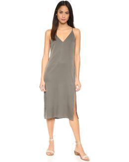 Kyun Silk Dress