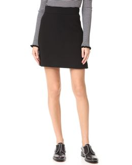 Highwaist Mini B Skirt