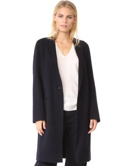 Essential Double Faced Wool Coat