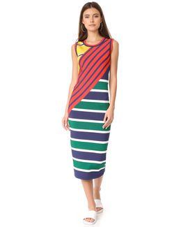 Colorblock Stripe Dress