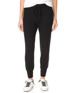 Brushed Cropped Joggers