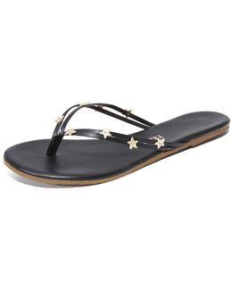 Lily Stars Flip Flops