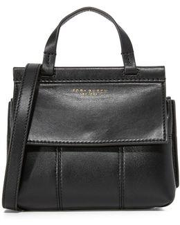 Block T Mini Top Handle Bag