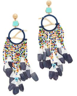 Dreamcatcher Statement Earrings