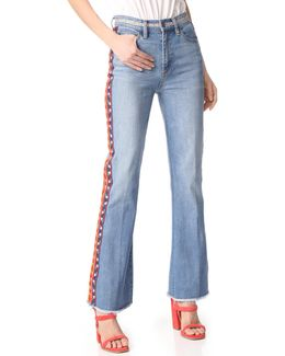 Amy Skinny Flare Jeans