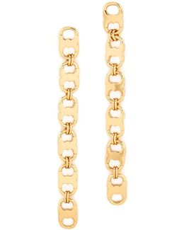 Gemini Link Linear Earrings