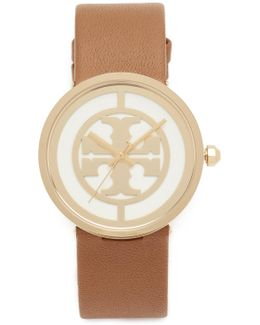 The Reva Leather Watch