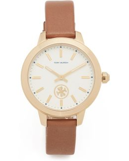 The Collins Leather Watch