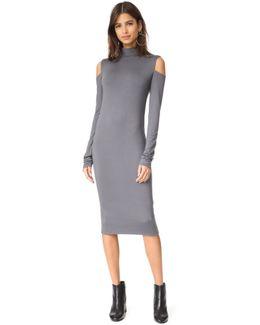 Stanley Cutout High Neck Dress