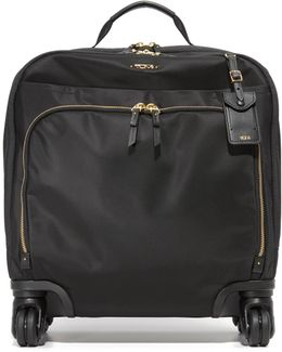 Oslo 4 Wheel Compact Carry On Luggage