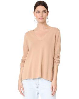 Milano Knit V Neck Sweater