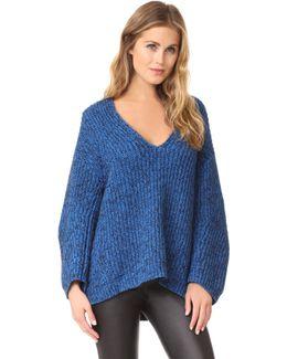 Chunky V Neck Sweater