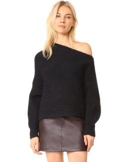 Chunky Asymmetrical Sweater