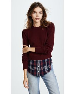 Combo Sweater