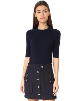 Cyprus Short Sleeve Sweater