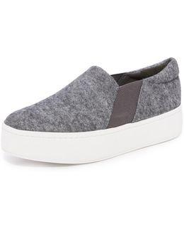 Warren Platform Slip On Sneakers